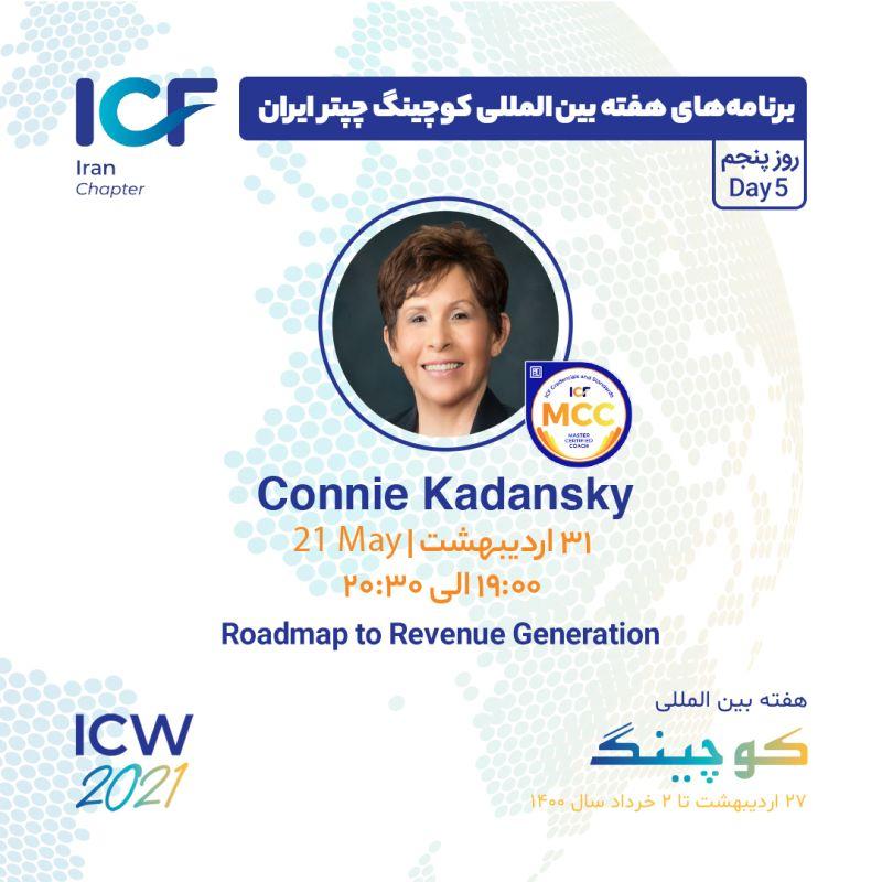 Roadmap to Revenue Generation Connie Kadansky (MCC)